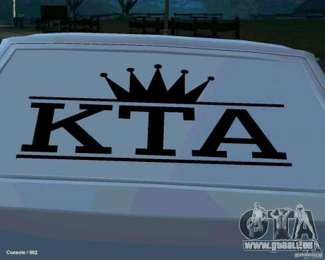 VAZ 2108 Drag pour GTA San Andreas salon