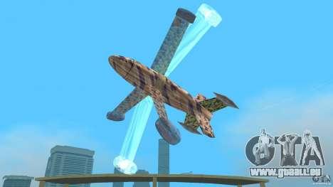 Conceptual Fighter Plane für GTA Vice City Rückansicht