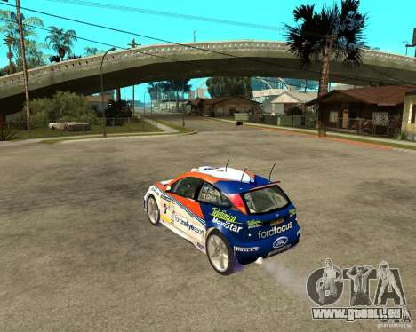 Ford Focus WRC 2002 für GTA San Andreas linke Ansicht
