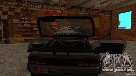 GTA Shift 2 Mazda RX-7 FC3S Speedhunters für GTA San Andreas rechten Ansicht