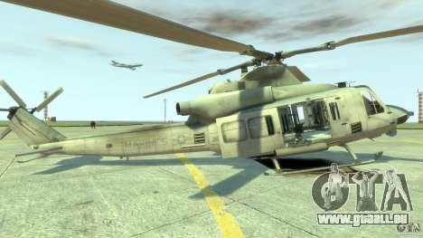 Bell UH-1Y Venom pour GTA 4 est une gauche