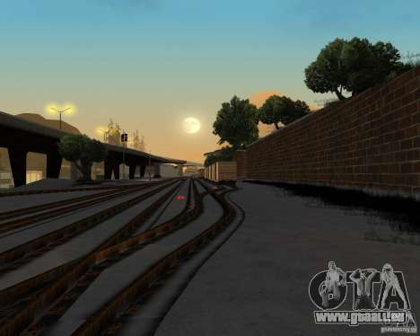 Nouvelle station de chemin de fer pour GTA San Andreas quatrième écran