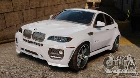 BMW X6 Hamann Evo22 no Carbon pour GTA 4