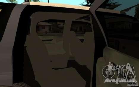 Cadillac Escalade pick up pour GTA San Andreas vue de droite