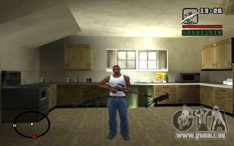 Fusil Mosin pour GTA San Andreas deuxième écran