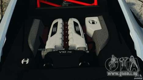 Audi R8 GT 2012 pour GTA 4 est un côté