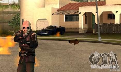 Police Man pour GTA San Andreas quatrième écran