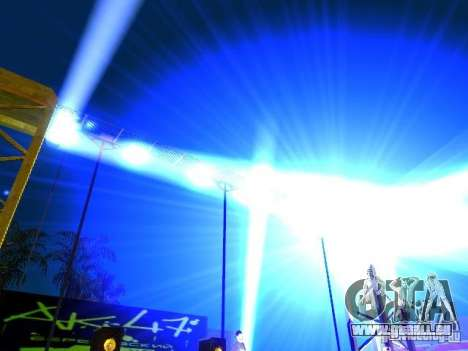 Concert de l'AK-47 v 2.5 pour GTA San Andreas sixième écran