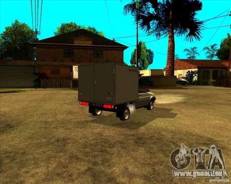 CEP 1706 pour GTA San Andreas sur la vue arrière gauche