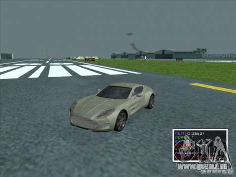 Aston Martin One 77 2011 pour GTA San Andreas
