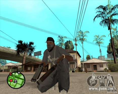 Nouvelle pièce de rechange pour GTA San Andreas deuxième écran