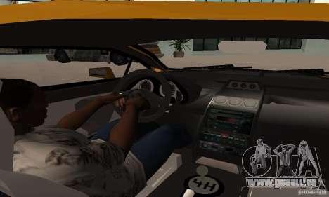 Lamborghini Gallardo für GTA San Andreas rechten Ansicht