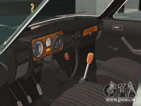 GAZ 24-10 v 2. pour GTA San Andreas vue arrière