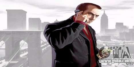 Écrans de démarrage de GTA IV v. 2.0 pour GTA San Andreas sixième écran