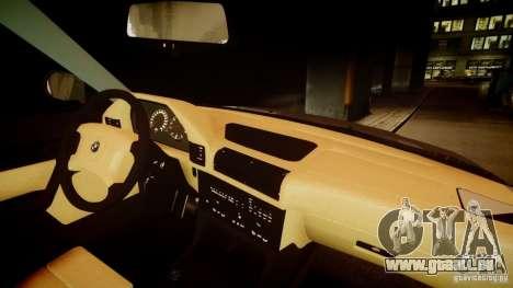BMW M5 (E34) 1995 v1.0 pour GTA 4 vue de dessus