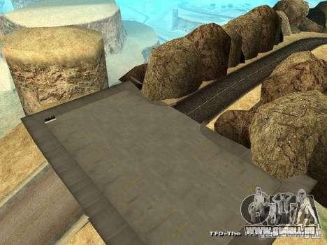 Downhill Drift pour GTA San Andreas deuxième écran