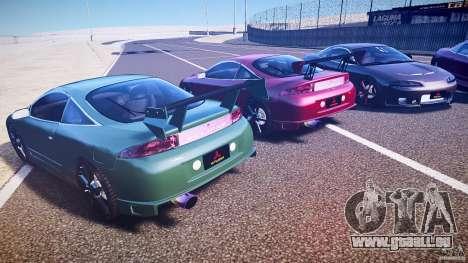 Mitsubishi Eclipse Tuning 1999 pour GTA 4 est un côté