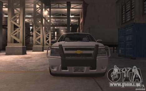 Chevrolet Avalanche v1.0 pour GTA 4 est une vue de l'intérieur