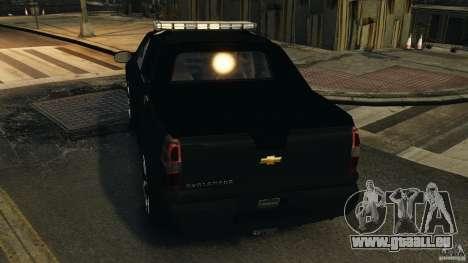 Chevrolet Avalanche 2007 [ELS] pour GTA 4 roues