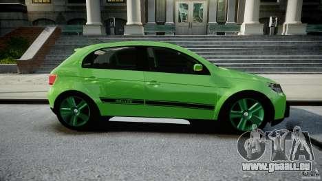 Volkswagen Gol Rallye 2012 v2.0 pour GTA 4 est une vue de l'intérieur