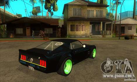 Ford Mustang RTR-X 1969 pour GTA San Andreas vue intérieure