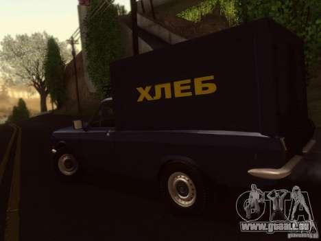 GAZ 24-12 pain van pour GTA San Andreas laissé vue