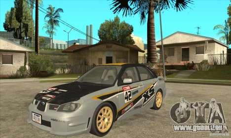 Subaru Impreza WRX STI 2006 für GTA San Andreas
