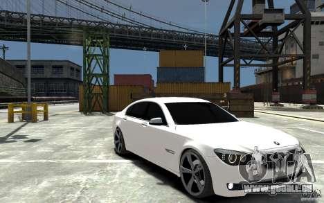 BMW 750 LI F01 v1.3 pour GTA 4 Vue arrière