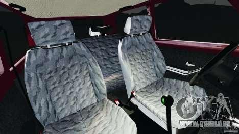Vaz-21214 Niva (Lada 4 x 4) pour GTA 4 est une vue de l'intérieur