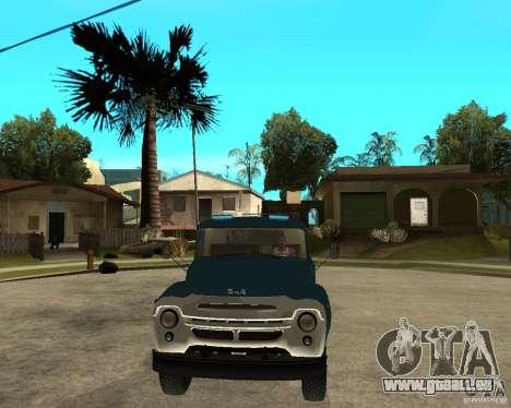 ZIL 130B1 für GTA San Andreas Rückansicht