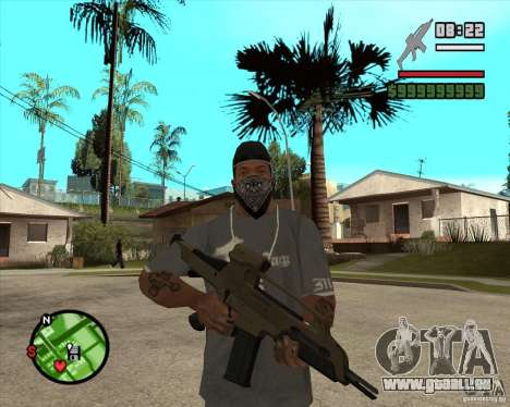 End Of Days: XM8 (HD) für GTA San Andreas