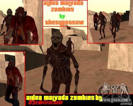 Zombie Half life 2 pour GTA San Andreas