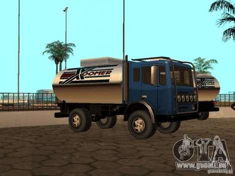 Düne-Tank für GTA San Andreas Innenansicht