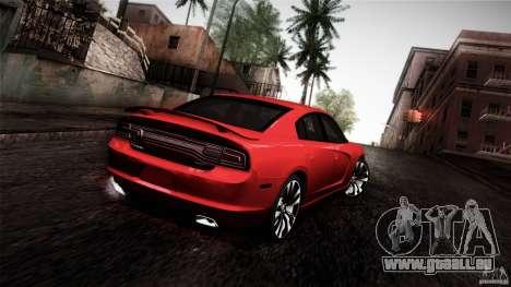 Dodge Charger SRT8 2012 pour GTA San Andreas laissé vue