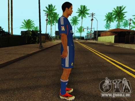 Cristiano Ronaldo v2 pour GTA San Andreas deuxième écran