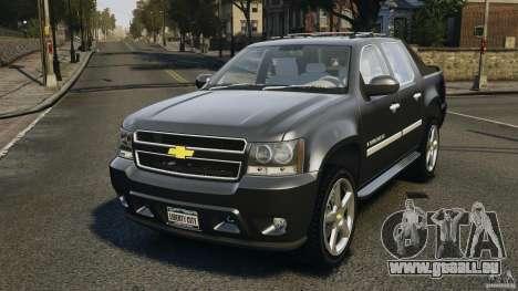 Chevrolet Avalanche Stock [Beta] pour GTA 4