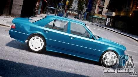 Mercedes-Benz W124 E500 1995 für GTA 4 linke Ansicht