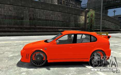 Seat Leon Cupra R pour GTA 4 est une gauche