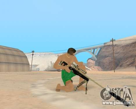 Gold weapons pack für GTA San Andreas her Screenshot