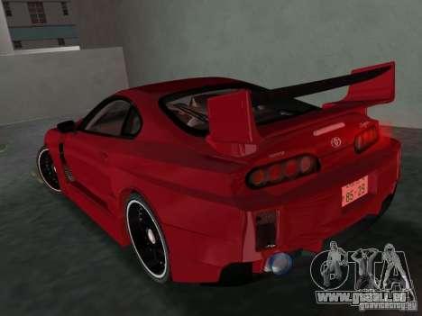 Toyota Supra Chargespeed für GTA Vice City rechten Ansicht