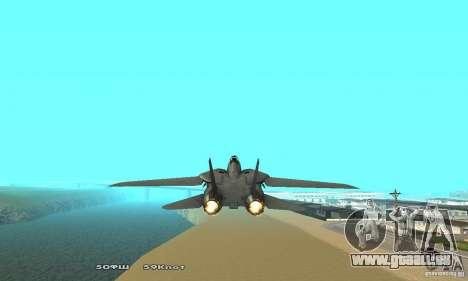 F14W Super Weirdest Tomcat Skin 2 pour GTA San Andreas vue arrière