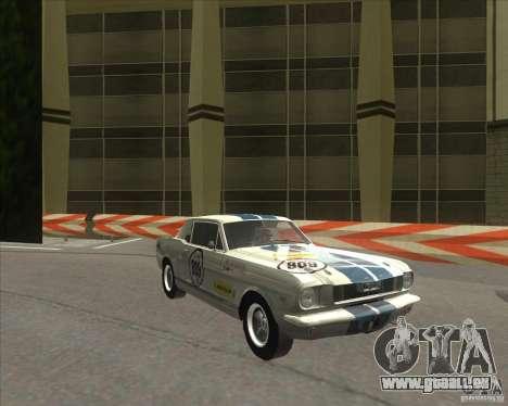 Ford Mustang 1965 für GTA San Andreas linke Ansicht