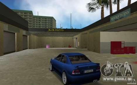 Mitsubishi Galant pour GTA Vice City sur la vue arrière gauche