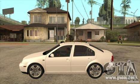 Volkswagen Bora VR6 2003 pour GTA San Andreas laissé vue