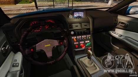 Nissan Skyline GT-R R34 Fast and Furious 4 pour GTA 4 Vue arrière