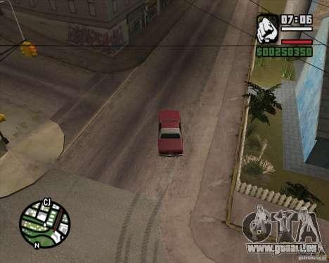 Caméra comme dans GTA Chinatown Wars pour GTA San Andreas