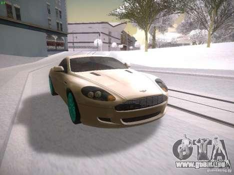 Aston Martn DB9 2008 pour GTA San Andreas laissé vue