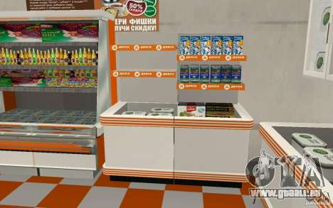 Nouvelle boutique Dixie pour GTA San Andreas quatrième écran