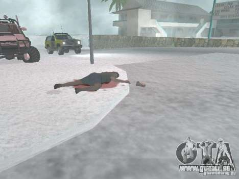 Argent neuf pour GTA San Andreas cinquième écran