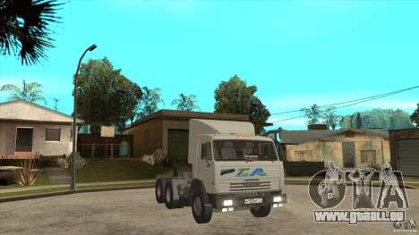 KAMAZ 54115 für GTA San Andreas Rückansicht